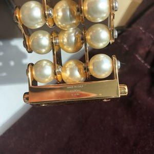 Louis Vuitton Jewelry - Louis Vuitton rare Speedy Pearl Bracelet